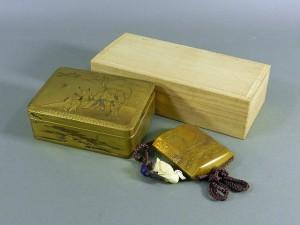 蒔絵の小箱・印籠
