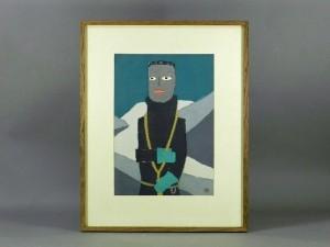 東京都 杉並区で「畦地梅太郎」の作品や掛け軸などを買い取らせて頂きました