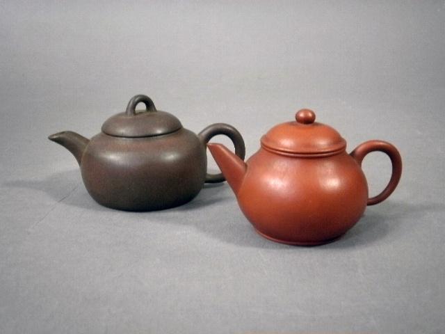 東京都 練馬区で朱泥の急須(茶器・茶道具)や水盤など中国の陶磁器などをお譲り頂きました