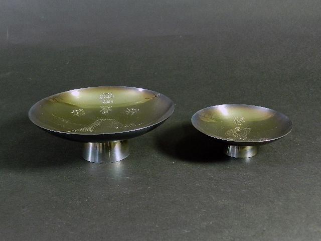 東京都 練馬区で銀製の酒器や三浦竹泉の作品をお譲り頂きました