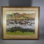 埼玉県 志木市のお客様から「小川博」の油絵(洋画)を宅配買取でお譲り頂きました