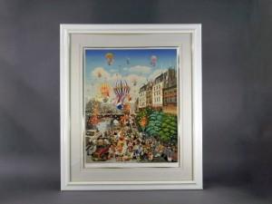 ヒロ・ヤマガタ 気球の飛ぶ街