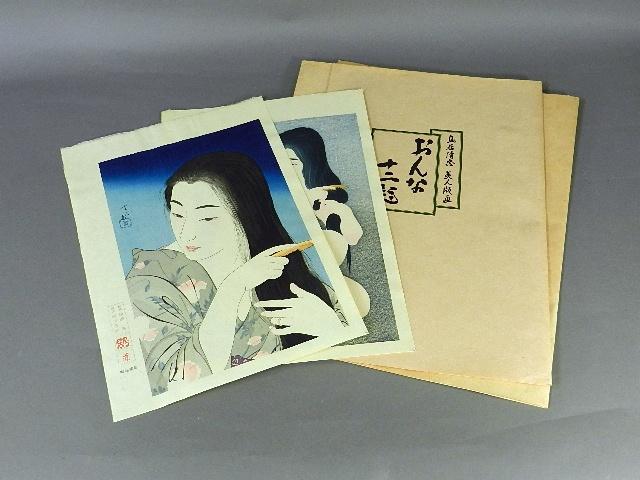 東京都 足立区のお客様から「鳥居清忠」や「ベルナール・シャロワ」「ジャン・クロード・キリチ」の版画を宅配買取でお譲り頂きました