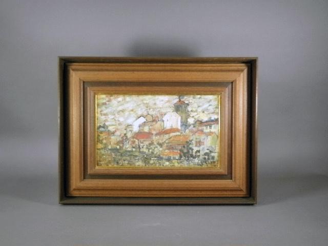 埼玉県 東松山市で絵画(油絵)や銀火屋の香炉などをお譲り頂きました。