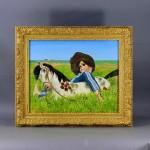 千葉県 松戸市で「小松崎邦夫」や「工藤和男」の油絵(絵画)を買取らせて頂きました