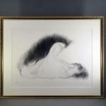 千葉県 八千代市で「天野喜孝」の版画(リトグラフ)をお譲り頂きました