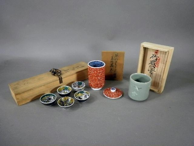 東京都 江戸川区で陶芸家(「清風与平」「浅倉五十吉」「柳海剛」)の作品や版画をお譲り頂きました
