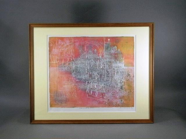 神奈川県 横浜市で「長谷川彰一」「ジャン・カルズー」「ポール・ギアマン」の版画をお譲り頂きました