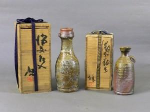 東京都 多摩市で備前焼(藤原啓・藤原雄)や古酒を買い取らせて頂きました