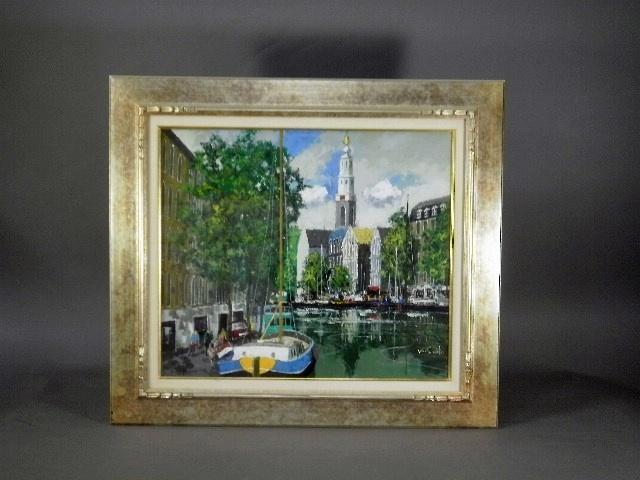 埼玉県 草加市で「斉藤要」の油絵(洋画)や国内外作家の絵画をご売却頂きました