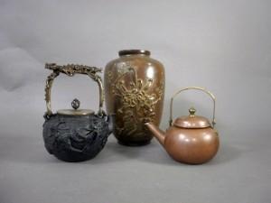 鉄瓶 銅器