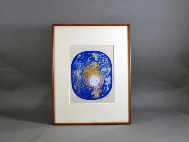 東京都 世田谷区で「永瀬義郎」の版画や木彫の観音像(仏像)をご売却頂きました