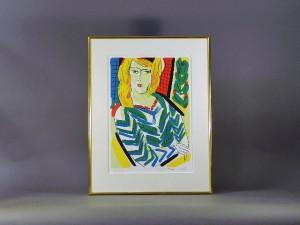 神奈川県 鎌倉市で「池田満寿夫」の版画や陶板をお譲り頂きました