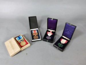 埼玉県 行田市で勲章や銀器の他、幅広いジャンルの品物を買取らせて頂きました