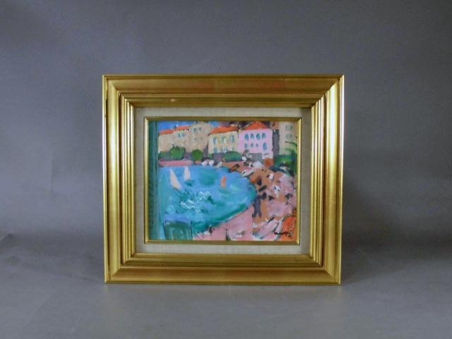 東京都 世田谷区で「直木昭」や「安藤軍治」の絵画(油絵)を買い取らせて頂きました