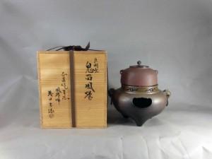 さいたま市 岩槻区で風炉釜(茶道具)を買取らさせて頂きました