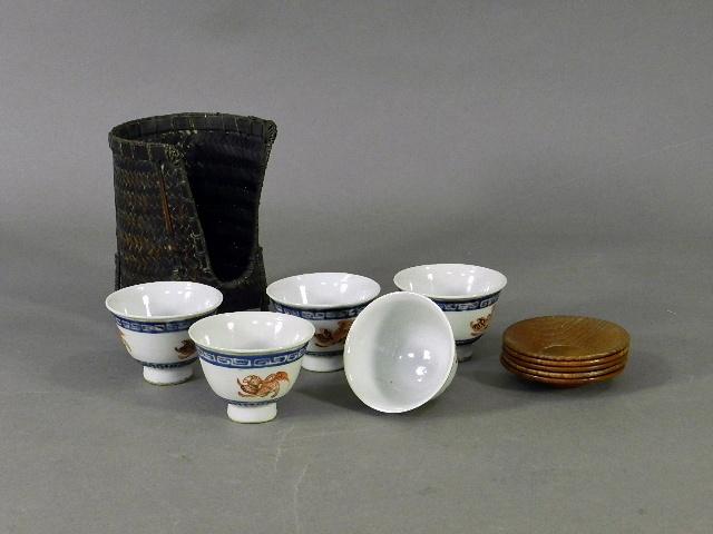 千葉県 浦安市で遺品買取のご依頼で煎茶道具(茶碗・茶托)をご売却いただきました