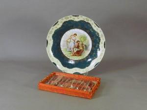西洋アンティーク 飾皿