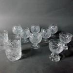 埼玉県 ふじみ野市でボヘミアクリスタルのグラス(ガラス食器)を買受けさせて頂きました