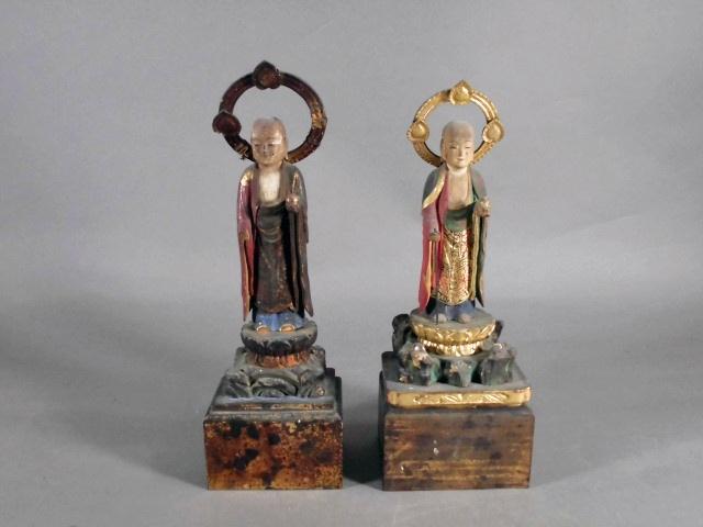 千葉県 我孫子市で木彫の仏像をお譲り頂きました