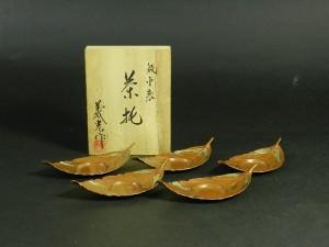銅製 茶托