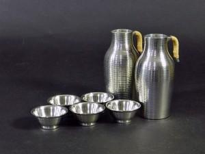 埼玉県 白岡市で遺品整理のご依頼で錫の酒器や備前焼の茶器を買い取らせて頂きました