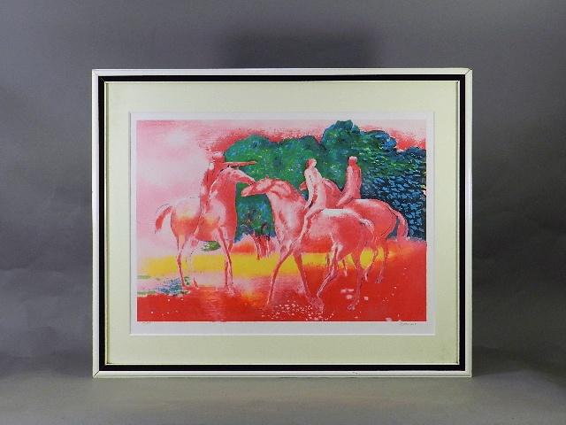千葉県 鎌ヶ谷市で「ポール・ギヤマン」の版画や国内作家の絵画(油絵)を買取らさせて頂きました