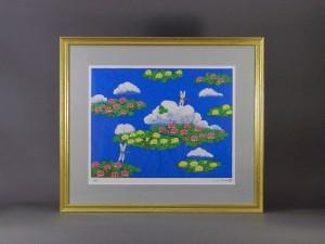 東京都 新宿区で「平松礼二」のリトグラフや「上村淳之」の木版画を買取らさせて頂きました