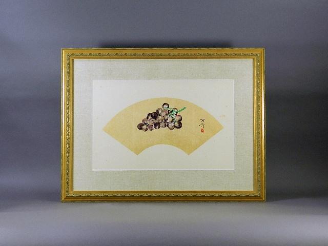 埼玉県 白岡市で遺品買取のご依頼で「伊東万燿」や「市野龍起」の日本画を買取らせて頂きました