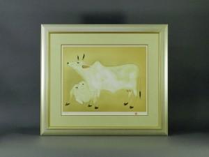 東京都 中央区で「奥村土牛」や「上村淳之」のリトグラフ(版画)を買取らせて頂きました
