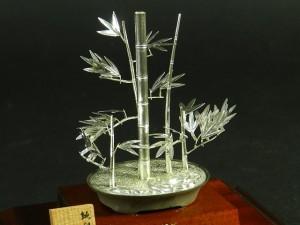 神奈川県 横浜市のお客様から銀製の置物を宅配買取でお譲りいただきました