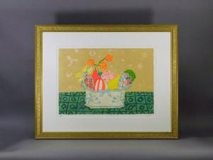 神奈川県 川崎市で「ポール・アイズピリ」や「マルク・シャガール」のリトグラフ(版画)をご売却頂きました