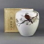 東京都 葛飾区で「影山明志」の花瓶を買取らさせていただきました
