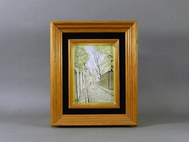 東京都 江戸川区で「服部和三郎」の油絵(絵画)を買取らせていただきました