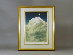 福王寺法林 雪山