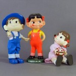 千葉県 松戸市で昭和レトロな人形(不二家 ペコちゃん人形)などを買い受けさせて頂きました