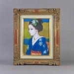 埼玉県 朝霞市で「寺島龍一」の油絵(絵画)や「オールドノリタケ」の飾り皿をご売却頂きました