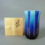 千葉県 千葉市で「徳田八十吉」の花瓶や「岩田久利」のガラス器、「星襄一」の木版画などをご売却頂きました