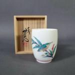 埼玉県 狭山市で「十四代 酒井田柿右衛門」の湯呑や絵画(洋画・日本画)をお譲り頂きました