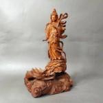 千葉県 いすみ市で木彫の仏像や古い油絵・鉄瓶などを買い取らせて頂きました