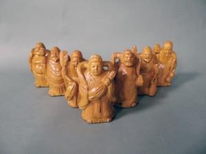 木彫 七福神