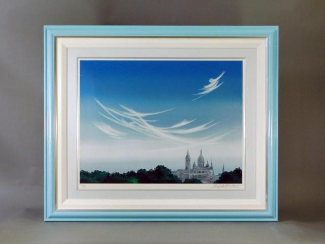 千葉県 市川市で「ミッシェル・バテュ」のシルクスクリーン(版画)を買取らせて頂きました
