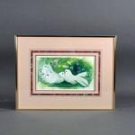 さいたま市 見沼区のお客様から「びしょっぷ靖子」の絵画や国内作家の油絵・版画などをお譲り頂きました