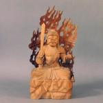埼玉県 三郷市で木彫の仏像(不動明王・観音像・弥勒菩薩像)などを買い取らさせて頂きました
