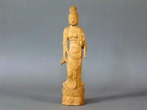 木彫 観音立像