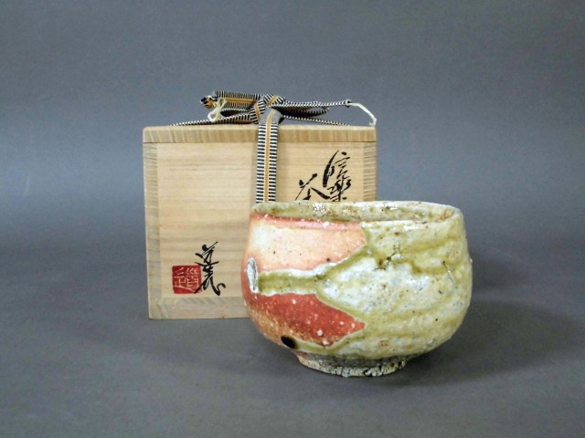 埼玉県 入間市のお客様から「古谷道生」の茶碗や「春田心斎(春田心斉)」の油絵の他、仏画や有田焼などをお譲り頂きました