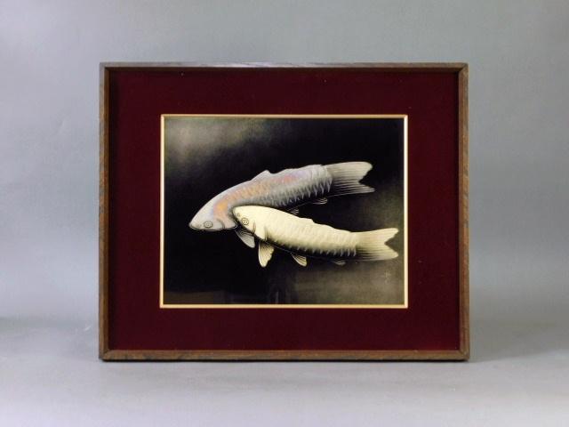 東京都 板橋区で輪島塗工芸家「三谷吾一」の漆額を買い取らせて頂きました