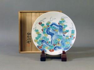 東京都 練馬区で「今泉今右衛門」の額皿を買取りさせて頂きました