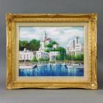 さいたま市 大宮区で「竹内敏彦」の油絵(絵画)をご売却頂きました