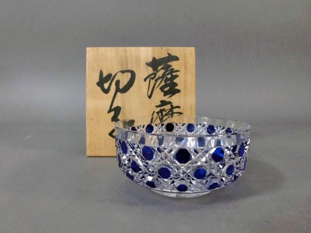東京都 西東京市で「薩摩切子」のガラス鉢や「バカラ」のワイングラスをご売却頂きました